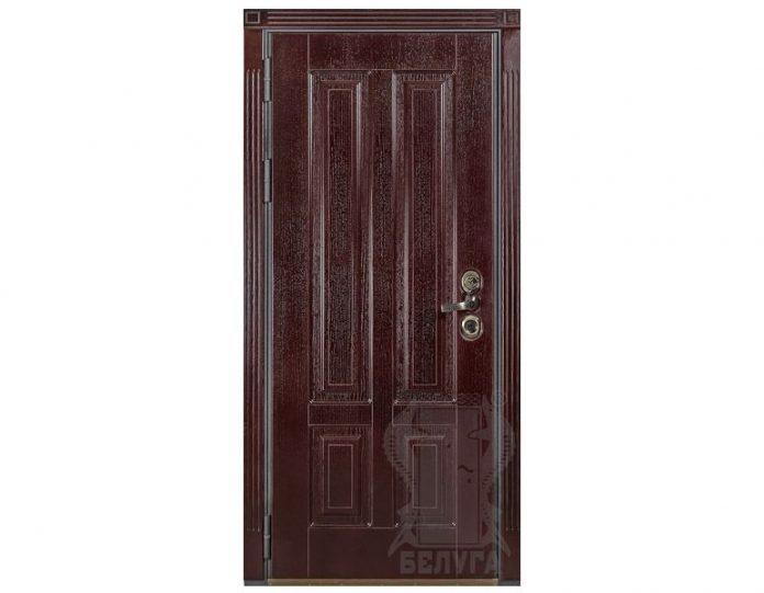 Входная металлическая дверь Белуга МОДЕЛЬ «Ницца»