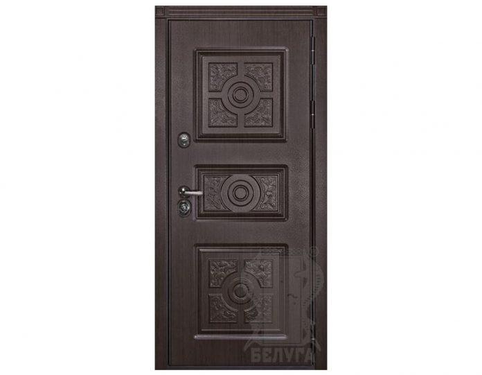 Входная металлическая дверь Белуга МОДЕЛЬ «Вернисаж»