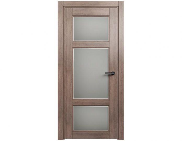 Межкомнатная дверь CLASSIC МОДЕЛЬ 542Ф цвет Дуб капучино