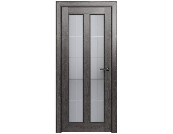 Межкомнатная дверь FUSION МОДЕЛЬ 612 цвет Дуб патина
