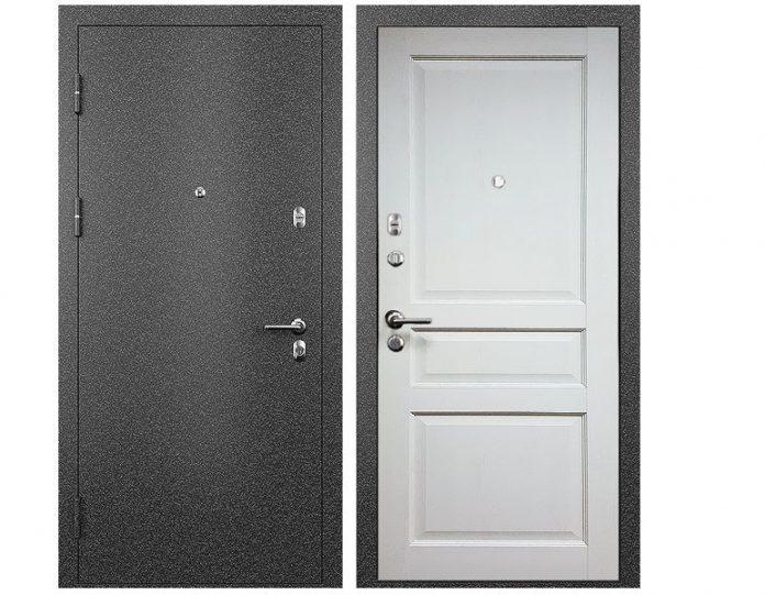 Входная дверь МОДЕЛЬ СТАТУС М 531 ПРЕСТИЖ цвет полотна Дуб белый