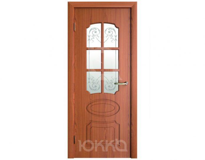 Межкомнатная дверь Юкка МОДЕЛЬ Эксклюзив (решетка)