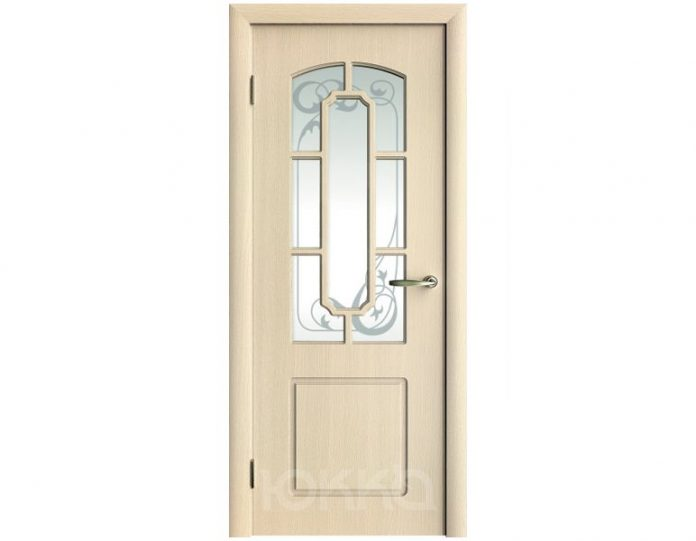 Межкомнатная дверь Юкка МОДЕЛЬ М4 с решеткой