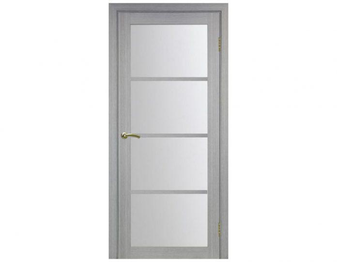 Межкомнатная дверь «OPTIMA PORTE» Турин 540 Дуб серый FL