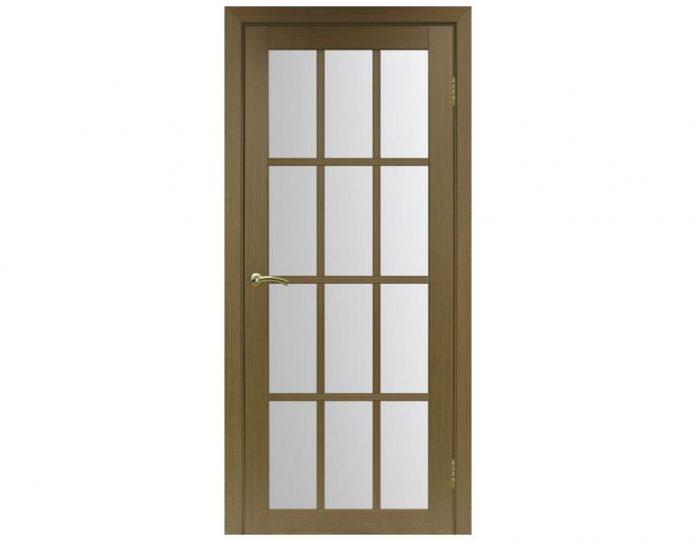 Межкомнатная дверь «OPTIMA PORTE» Турин 542 Орех классик NL