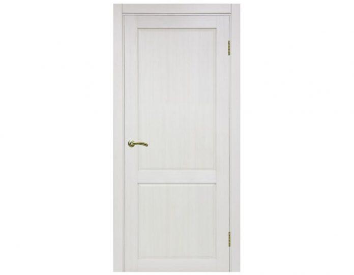 Межкомнатная дверь «OPTIMA PORTE» Тоскана 602 ОФ3 Ясень перламутровый FL