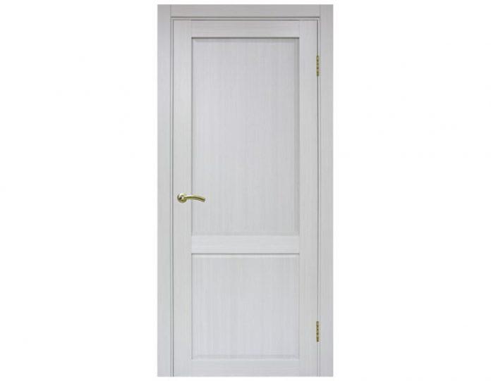 Межкомнатная дверь «OPTIMA PORTE» Тоскана 602 ОФ3 Ясень серебристый FL