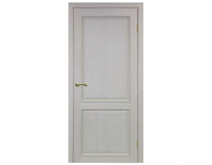 Межкомнатная дверь «OPTIMA PORTE» Тоскана 602 ОФ1 Дуб беленый FL
