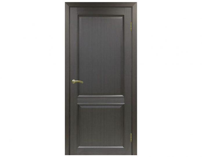 Межкомнатная дверь «OPTIMA PORTE» Тоскана 602 ОФ1 Венге FL