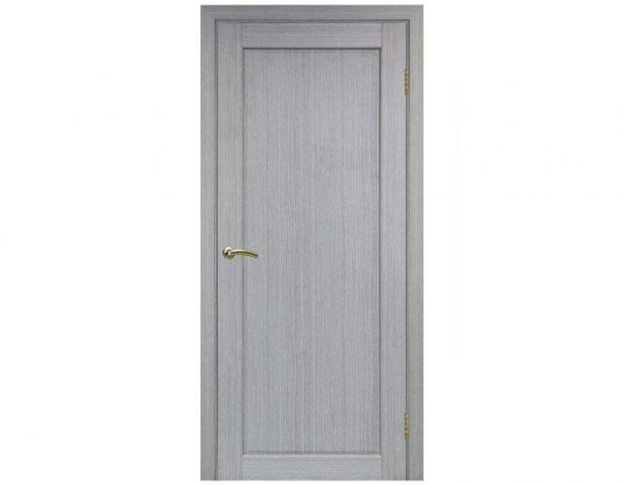 Межкомнатная дверь «OPTIMA PORTE» Сицилия 701 Дуб серый FL