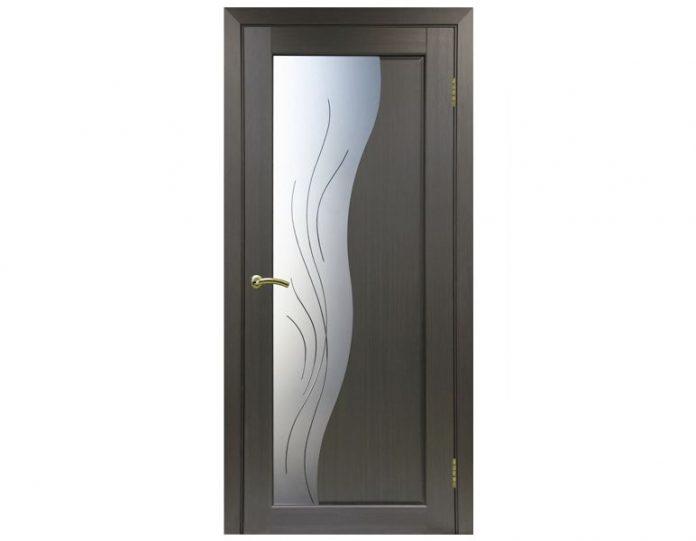 Межкомнатная дверь «OPTIMA PORTE» Сицилия 720 Дуб беленый FL
