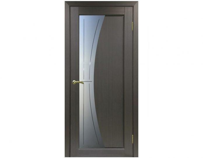 Межкомнатная дверь «OPTIMA PORTE» Сицилия 721 Венге FL