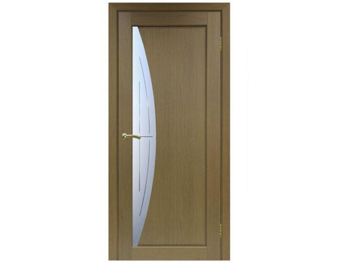 Межкомнатная дверь «OPTIMA PORTE» Сицилия 722 Орех классик NL