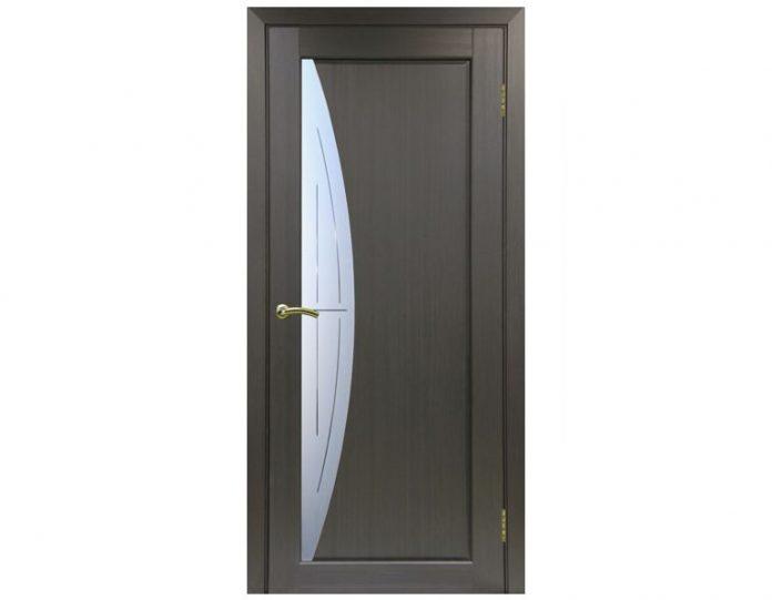 Межкомнатная дверь «OPTIMA PORTE» Сицилия 722 Венге FL