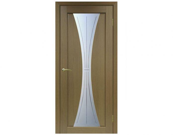 Межкомнатная дверь «OPTIMA PORTE» Сицилия 732 Орех классик NL