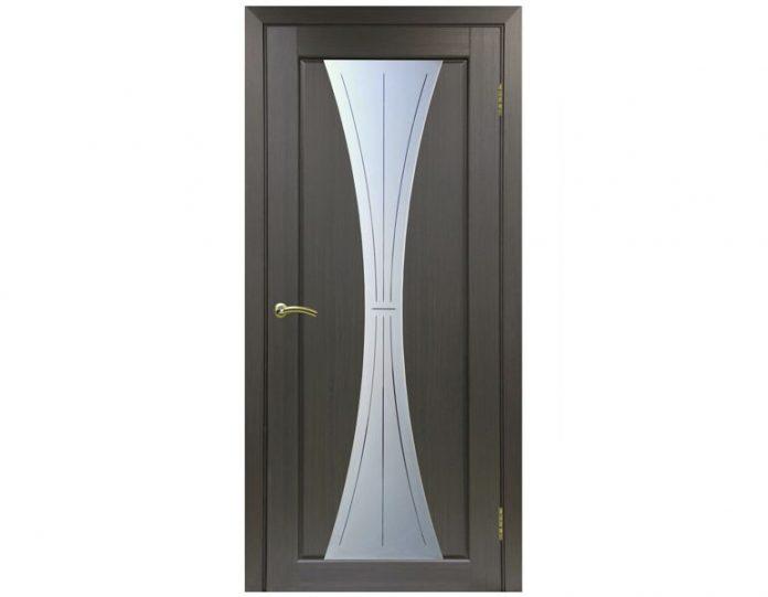 Межкомнатная дверь «OPTIMA PORTE» Сицилия 732 Венге FL