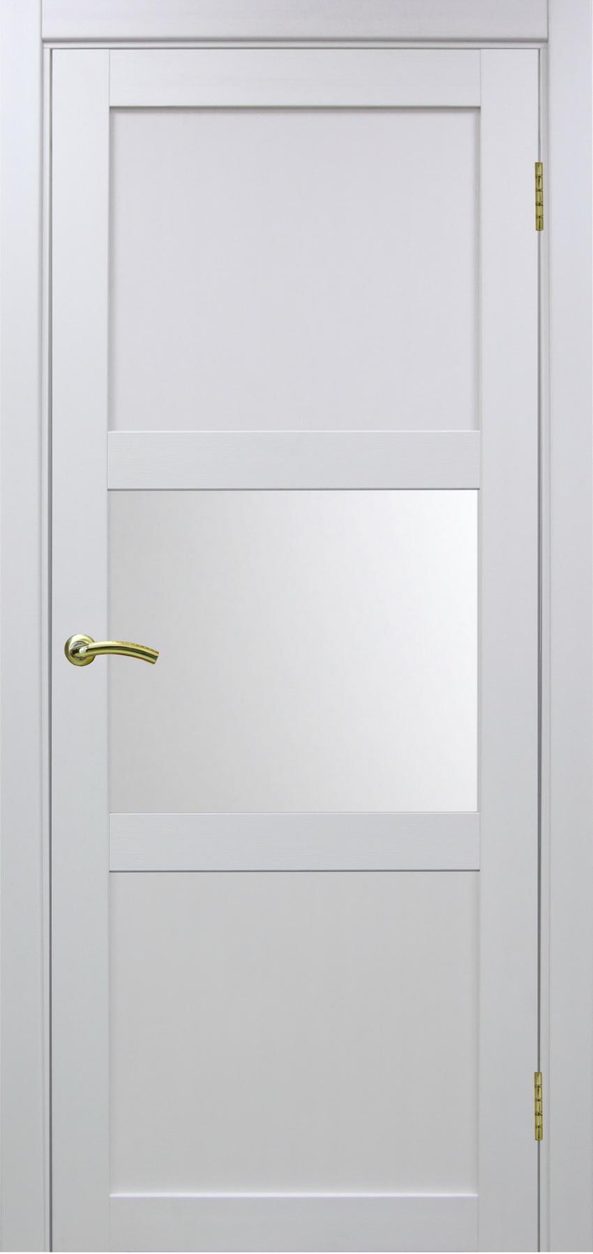Турин 530 Белый монохром ЭКО-шпон Остекление №121