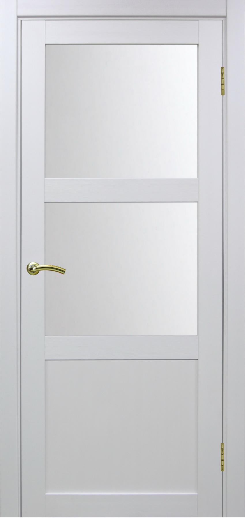 Турин 530 Белый монохром ЭКО-шпон Остекление №221