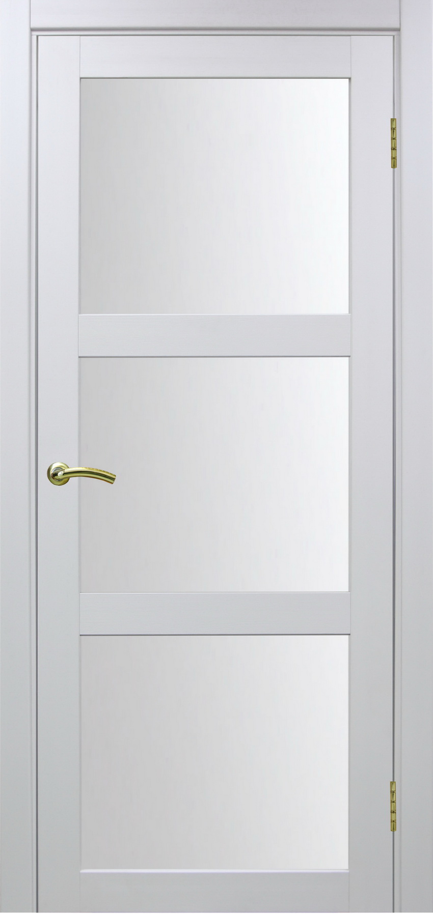 Турин 530 Белый монохром ЭКО-шпон Остекление №222