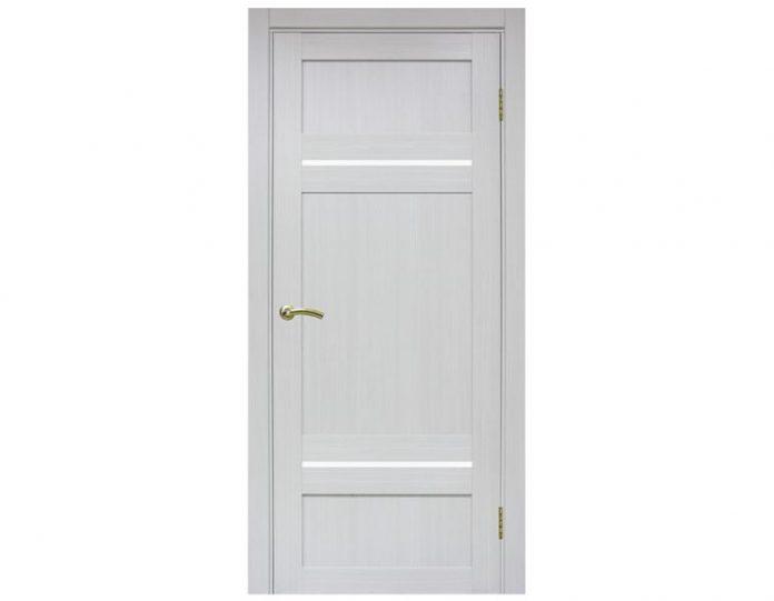 Межкомнатная дверь «OPTIMA PORTE» Турин 532 Ясень серебристый FL