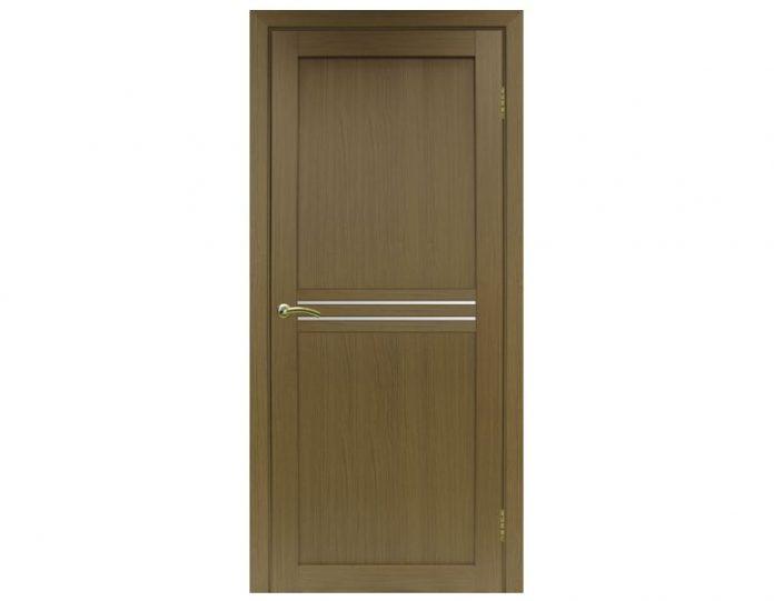 Межкомнатная дверь «OPTIMA PORTE» Турин 552 Орех классик NL