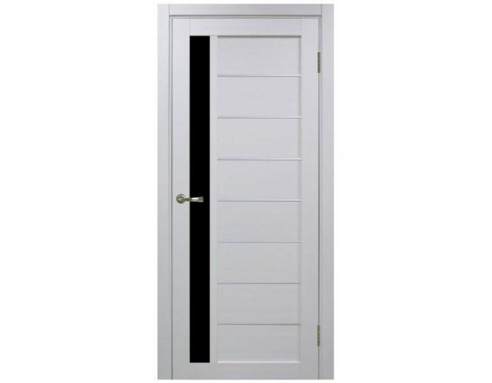Межкомнатная дверь «OPTIMA PORTE» Турин 554 АПП Белый монохром