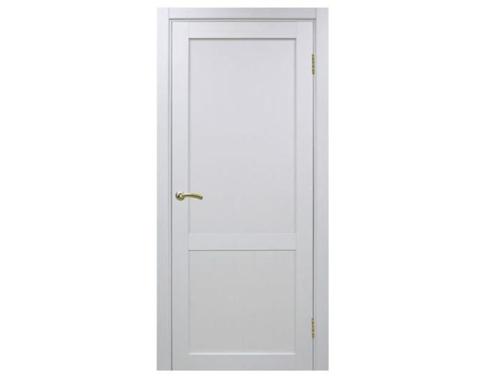 Межкомнатная дверь «OPTIMA PORTE» Турин 502 Белый монохром