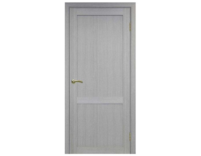 Межкомнатная дверь «OPTIMA PORTE» Турин 502 Дуб серый FL