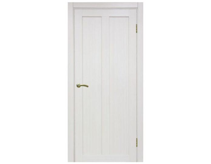 Межкомнатная дверь «OPTIMA PORTE» Турин 521 Ясень перламутровый FL