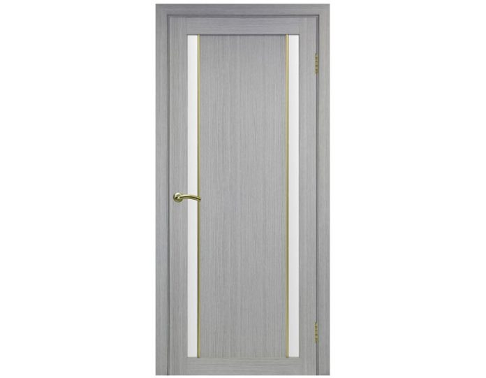 Межкомнатная дверь «OPTIMA PORTE» Турин 522АПС Молдинг SG Дуб серый FL