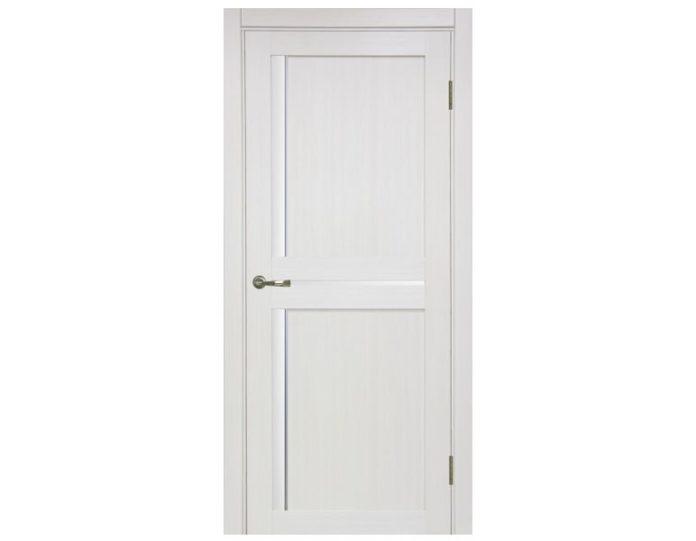 Межкомнатная дверь «OPTIMA PORTE»Турин 523АПС Молдинг SC Ясень перламутровый FL