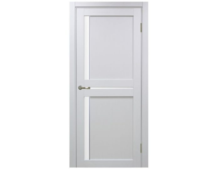Межкомнатная дверь «OPTIMA PORTE»Турин 523АПС Молдинг SC Белый монохром