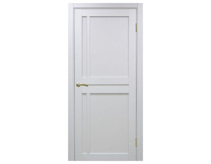 Межкомнатная дверь «OPTIMA PORTE» Турин 523 Белый монохром
