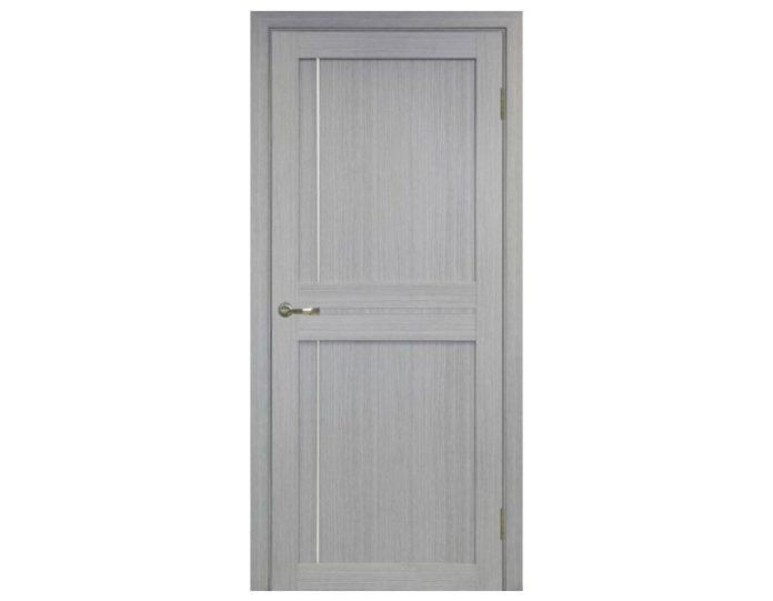 Межкомнатная дверь «OPTIMA PORTE» Турин 523АПП Молдинг SC Дуб серый FL