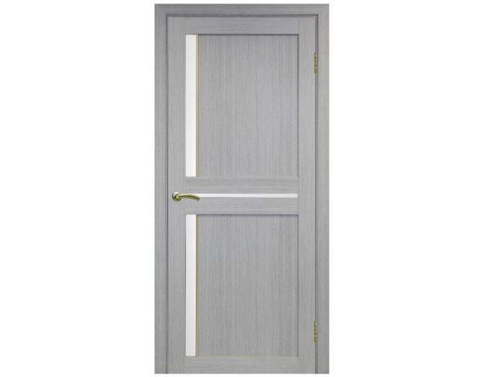 Межкомнатная дверь «OPTIMA PORTE» Турин 523АПС Молдинг SG Дуб серый FL