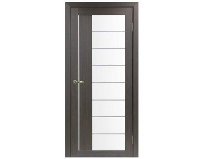 Межкомнатная дверь «OPTIMA PORTE» Турин 524АСС Молдинг SC Венге FL