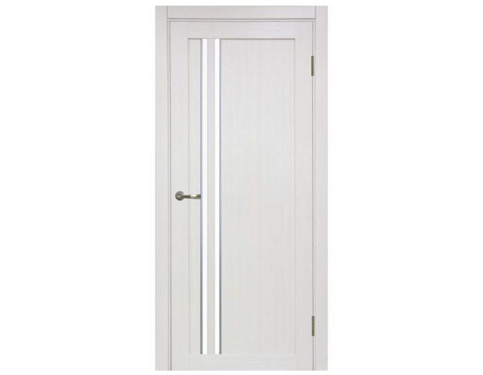 Межкомнатная дверь «OPTIMA PORTE» Турин 525АПС Молдинг SC Ясень перламутровый FL