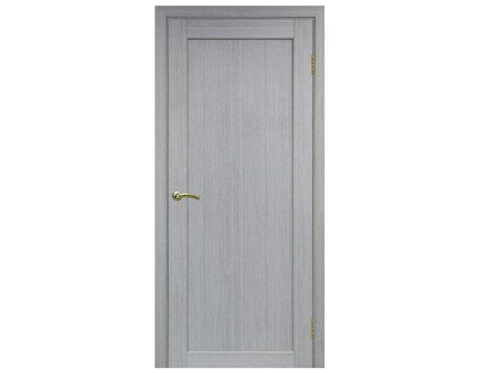 Межкомнатная дверь «OPTIMA PORTE» Парма 401 Дуб серый FL