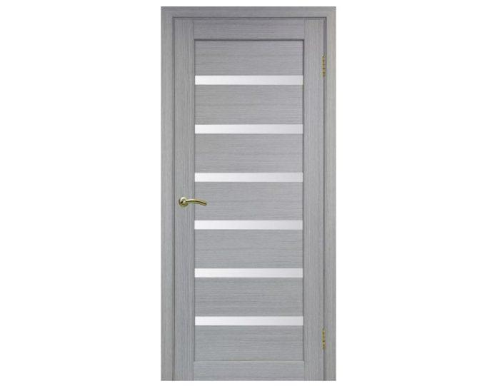Межкомнатная дверь «OPTIMA PORTE» Парма 408 Дуб серый FL