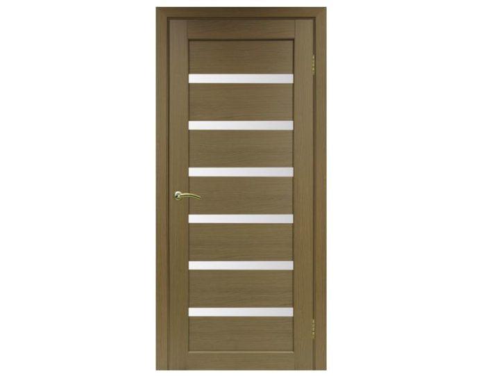 Межкомнатная дверь «OPTIMA PORTE» Парма 408 Орех классик NL
