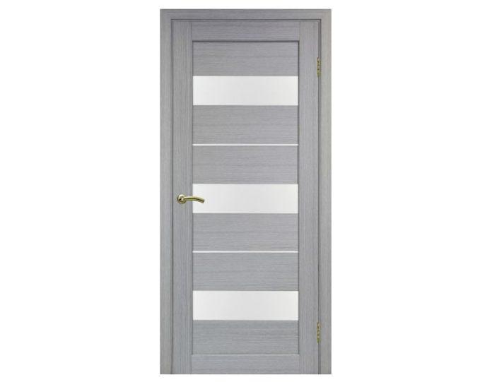 Межкомнатная дверь «OPTIMA PORTE» Парма 426 Дуб серый FL