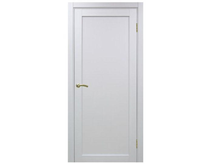 Межкомнатная дверь «OPTIMA PORTE» Турин 501 Белый монохром