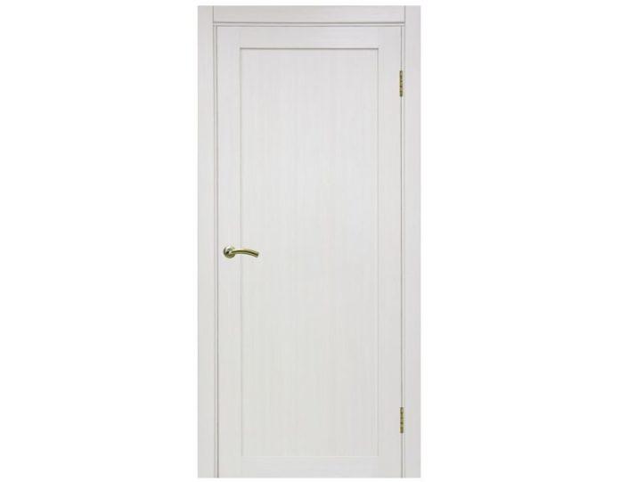 Межкомнатная дверь «OPTIMA PORTE» Турин 501 Ясень перламутровый FL