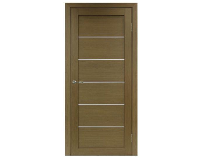 Межкомнатная дверь «OPTIMA PORTE» Турин 501AПП Молдинг SG Орех классик NL
