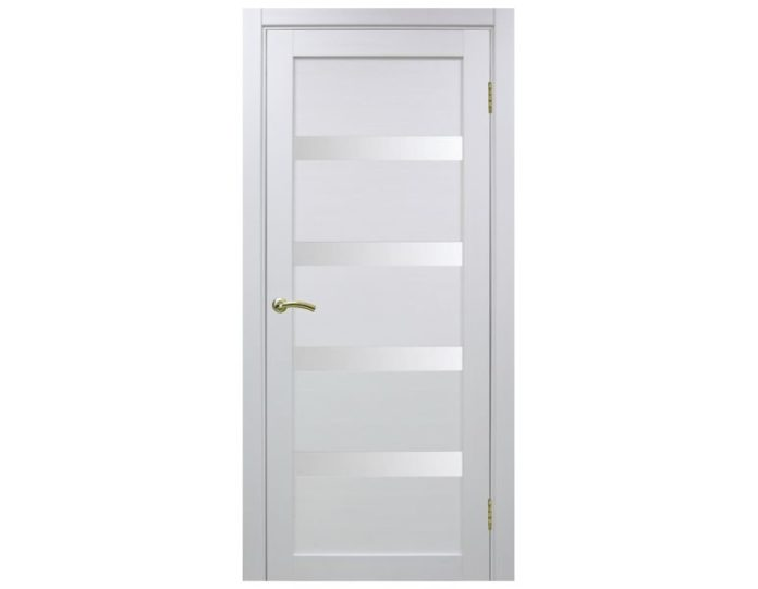 Межкомнатная дверь «OPTIMA PORTE» Турин 505 Белый монохром