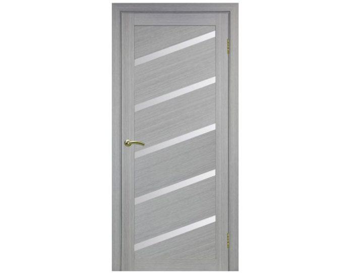 Межкомнатная дверь «OPTIMA PORTE» Турин 506U Дуб серый FL