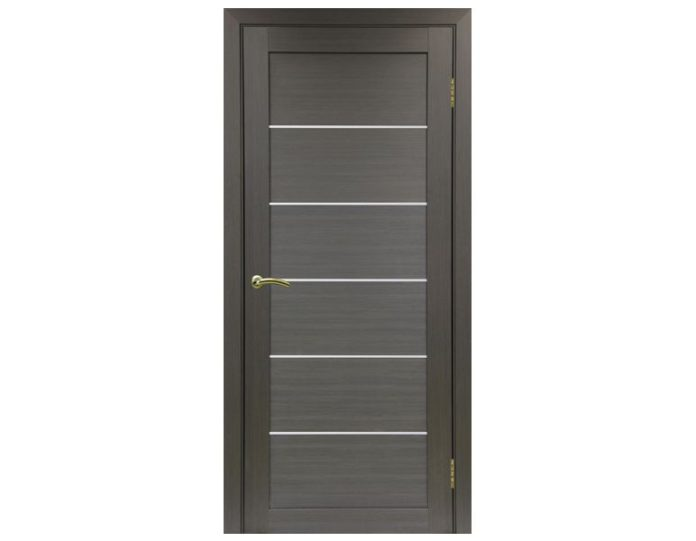 Межкомнатная дверь «OPTIMA PORTE» Турин 506 Венге FL