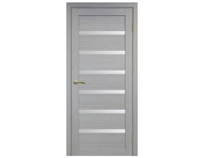 Межкомнатная дверь «OPTIMA PORTE» Турин 507 Дуб серый FL