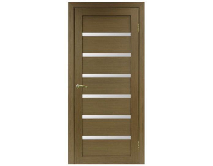 Межкомнатная дверь «OPTIMA PORTE» Турин 507 Орех классик NL