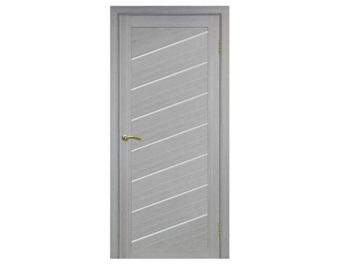 Межкомнатная дверь «OPTIMA PORTE» Турин 508U Дуб серый FL
